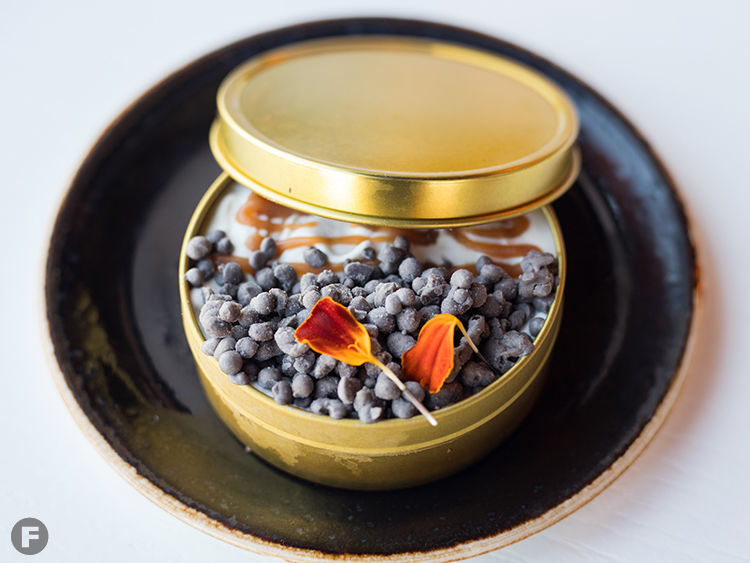 Affogato Caviar; Photo courtesy of Feast Magazine